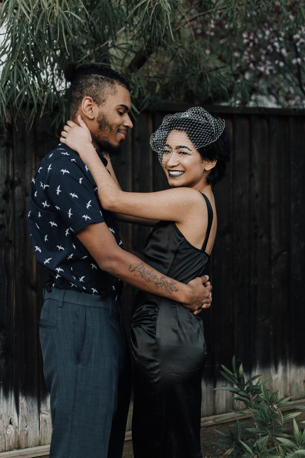 Ska Punk Psychobilly Wedding Elopement Inspiration in the San Francisco Bay Area by Helen Feliciano-Bailey