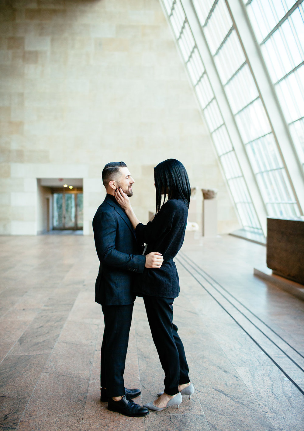 Cinder & Co. MOMA Surprise Engagement New York