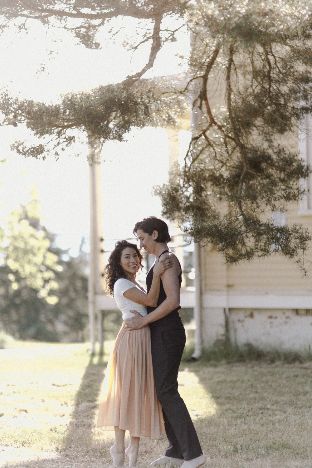 Mandee Rae Dirty Dancing Inspired Engagement Shoot
