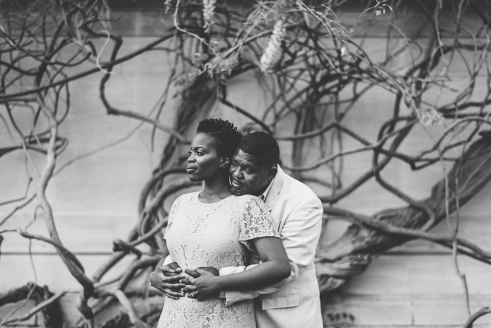 National Gallery wedding engagement session in Washington DC by Mason Photography