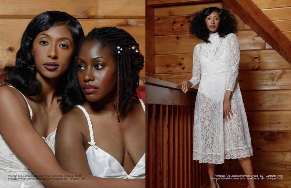 Black BeauTEA Talk Silk Lace Bridal Shoot by Brittney Taylor