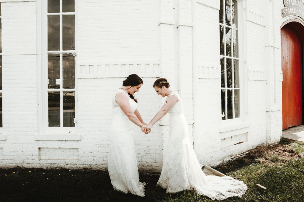 Brandi Potter LGBTQ Wedding