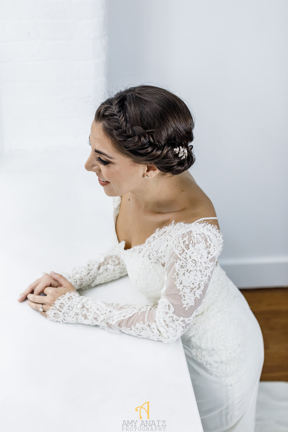 Happily Ever Borrowed Amy Anaiz Cinzi Leaf Halo
