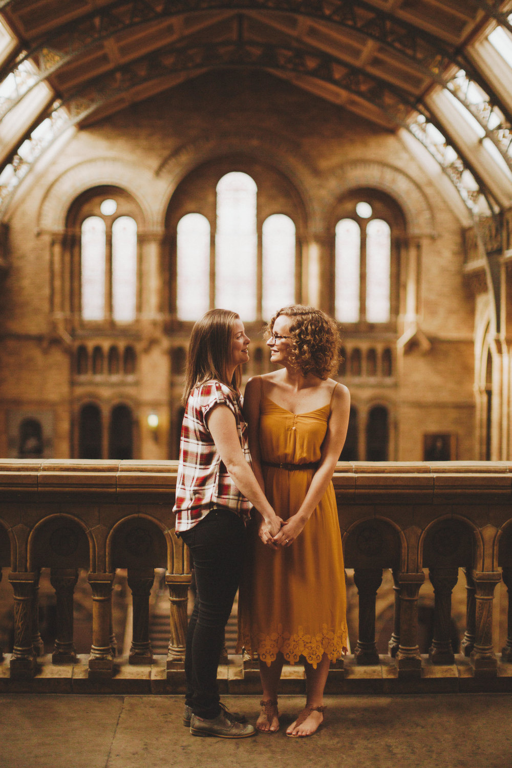 Nessa K Natural History Museum London Engagement
