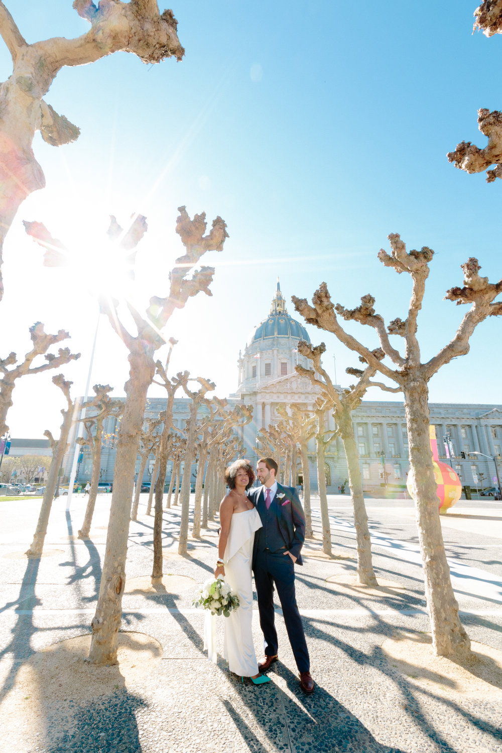 Michelle Walker Chloe Jackman Photography San Francisco Courthouse Wedding