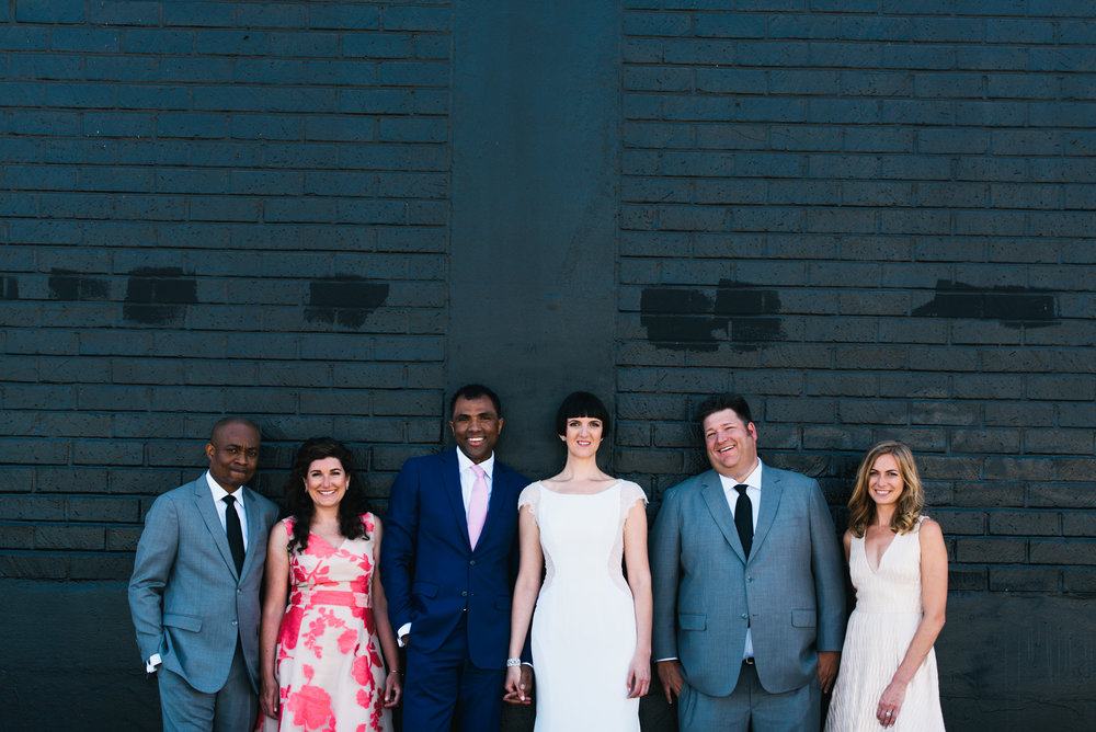 Mod Minimalist Wedding in LA by Moxie Bright Events & Clarkie Photography
