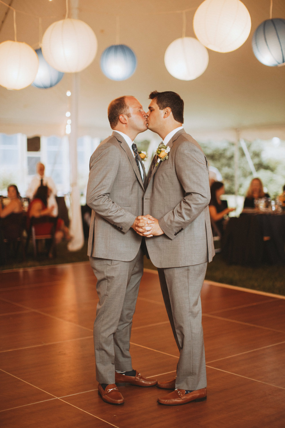first dance for two grooms