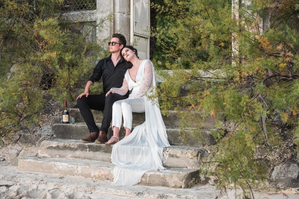 Wedding Elopement Styled Shoot with nine couples in France by Alexandria Hall Photography