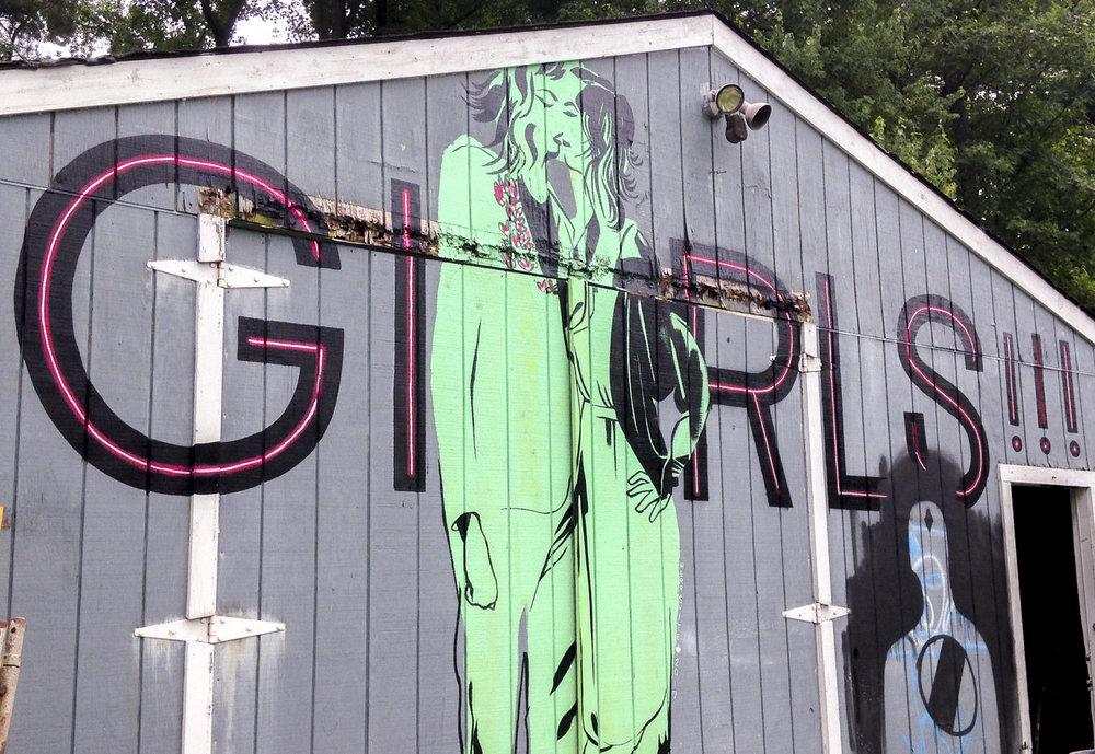 Emily Herr Girls! Girls! Girls! Mural