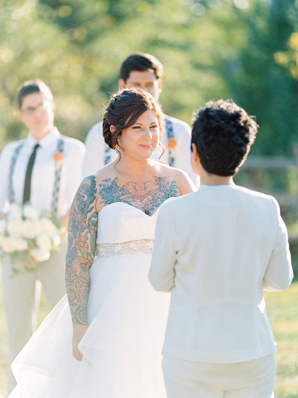 Love by Serena Sugarloaf Mountain LGBTQ Mountain Wedding