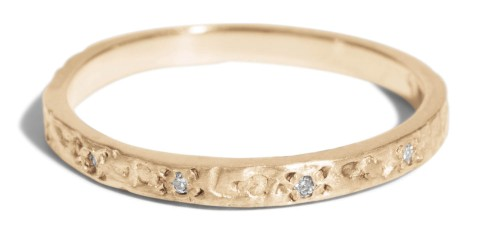 Dais Narrow Band with Diamonds by Bario Neal