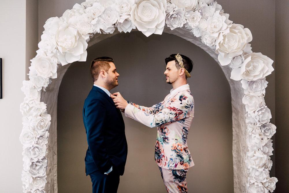 Madison Hope Photography Versace LGBTQ Elopement