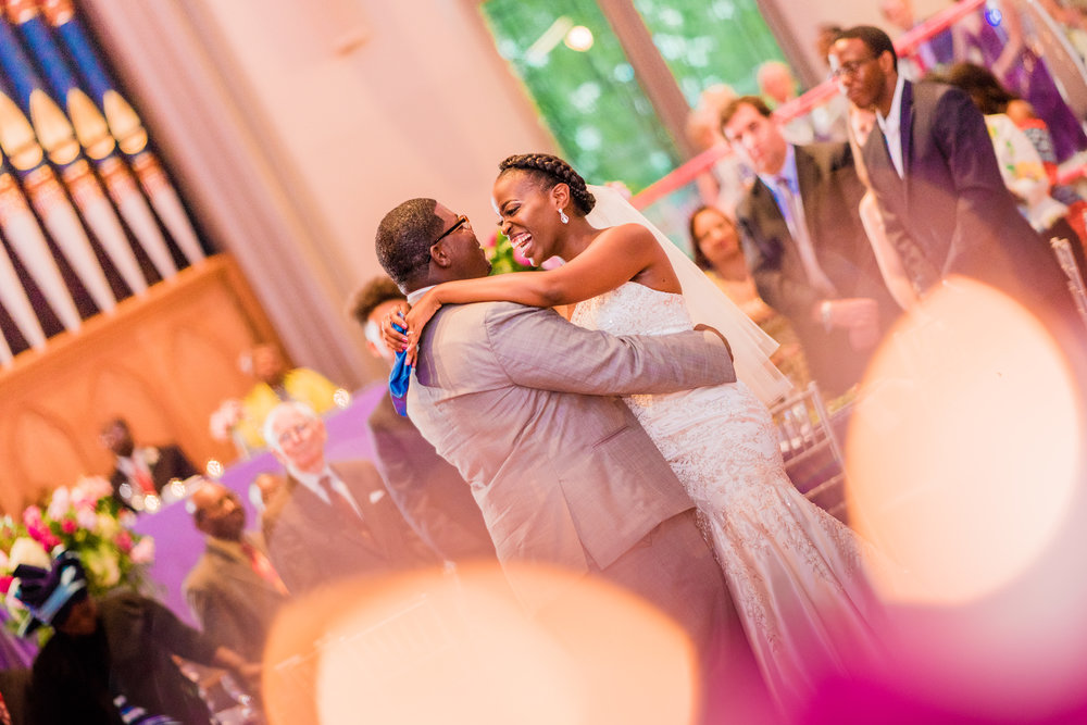 Cathedral Wedding by Mason Photography