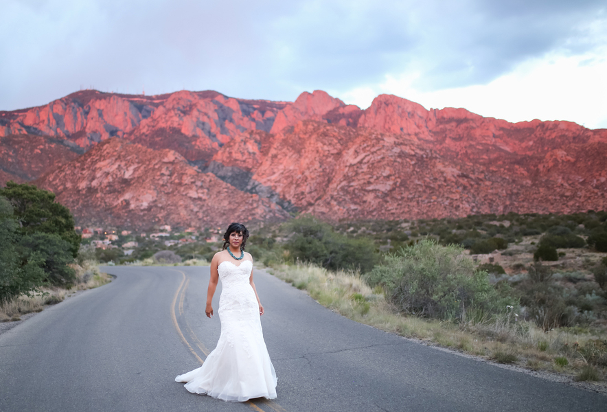 Self Love Wedding Styled Shoot in Albuquerque New Mexico by Jamie Jauriqui Photography
