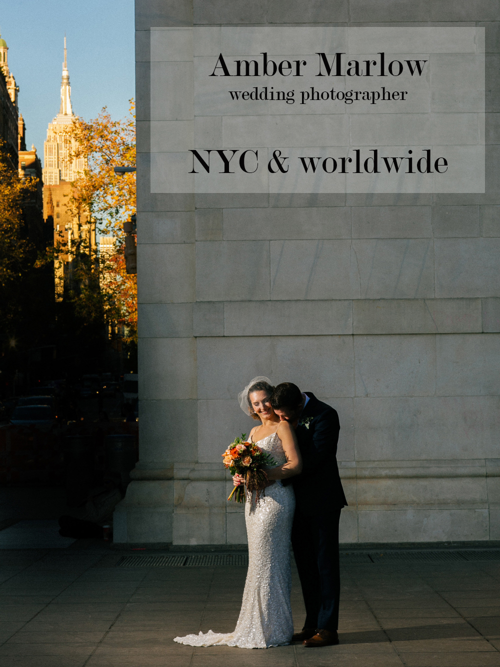 Amber Marlow Wedding Photographyer - NYC & Worldwide
