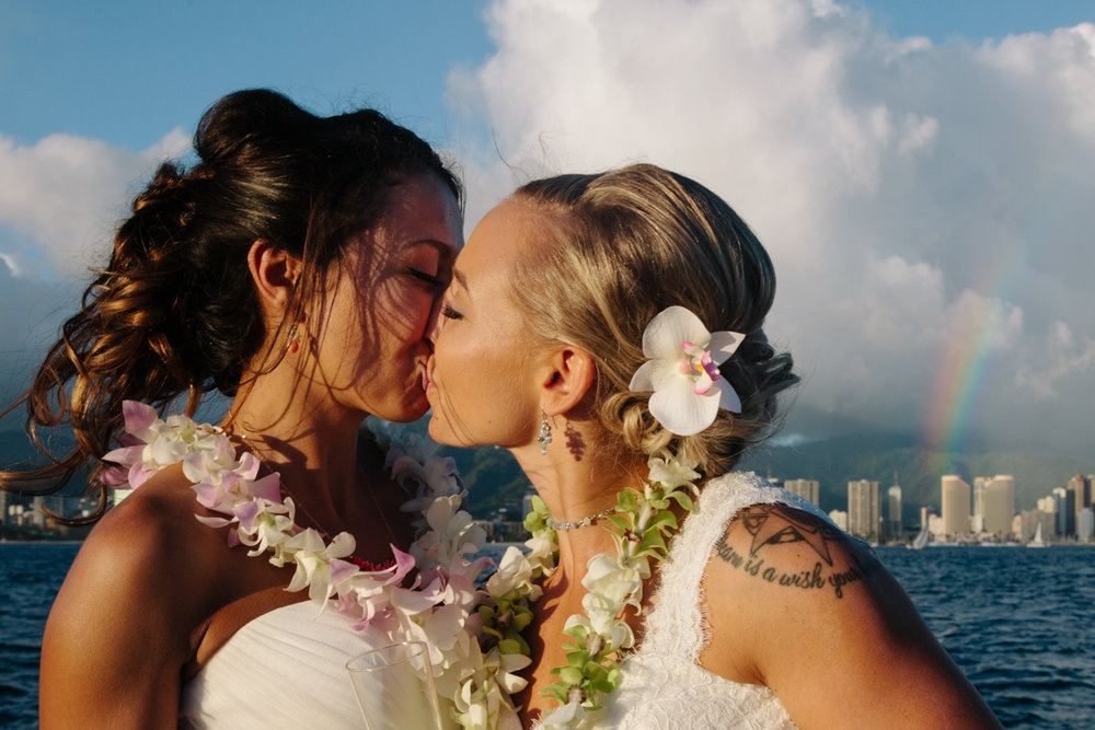 Same sex wedding in Hawaii