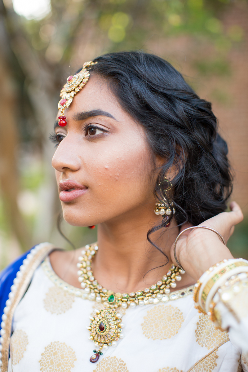 stunning indian bridal jewlery