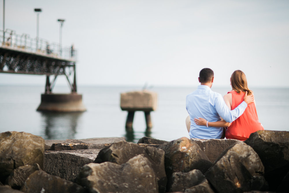 Edgewater Park Engagement Photo Session