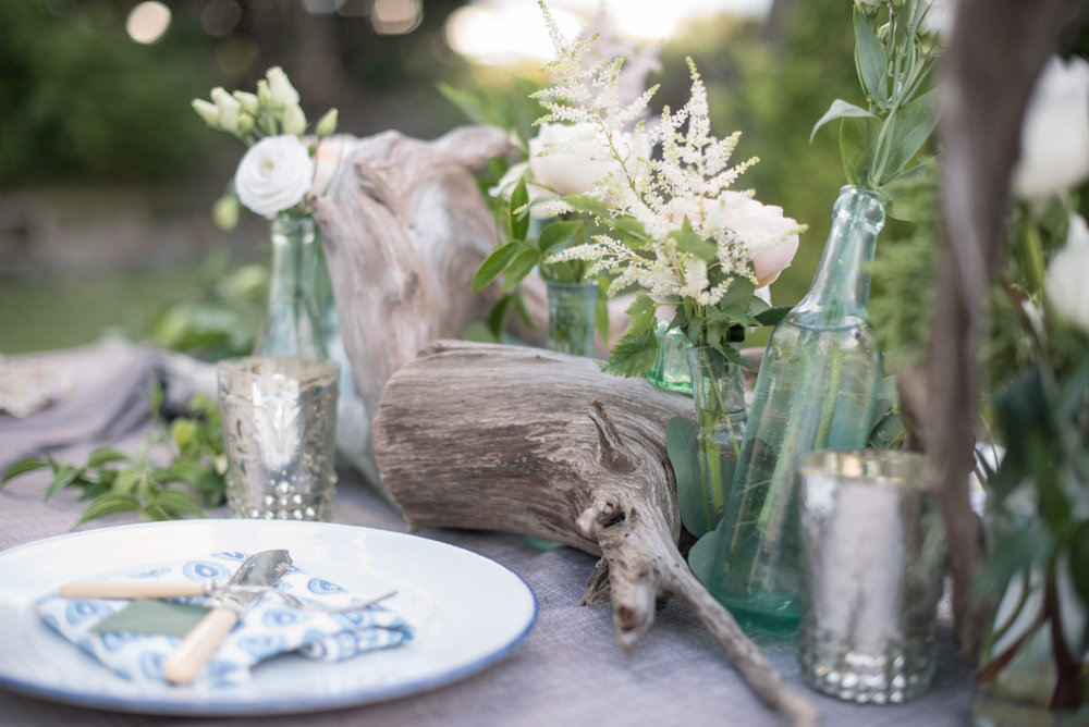 cedar root drift wood wedding decor