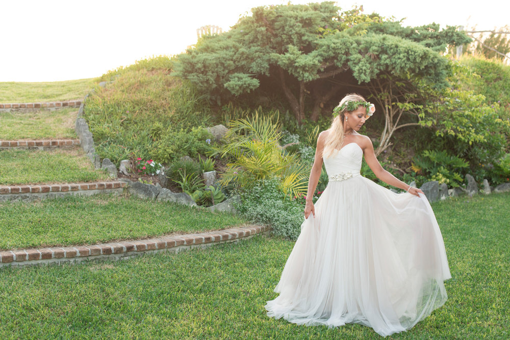 Bermuda wedding at private residence