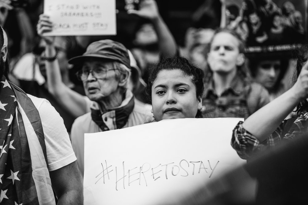 DACA protests by Jamie Thrower of Studio XIII Photography