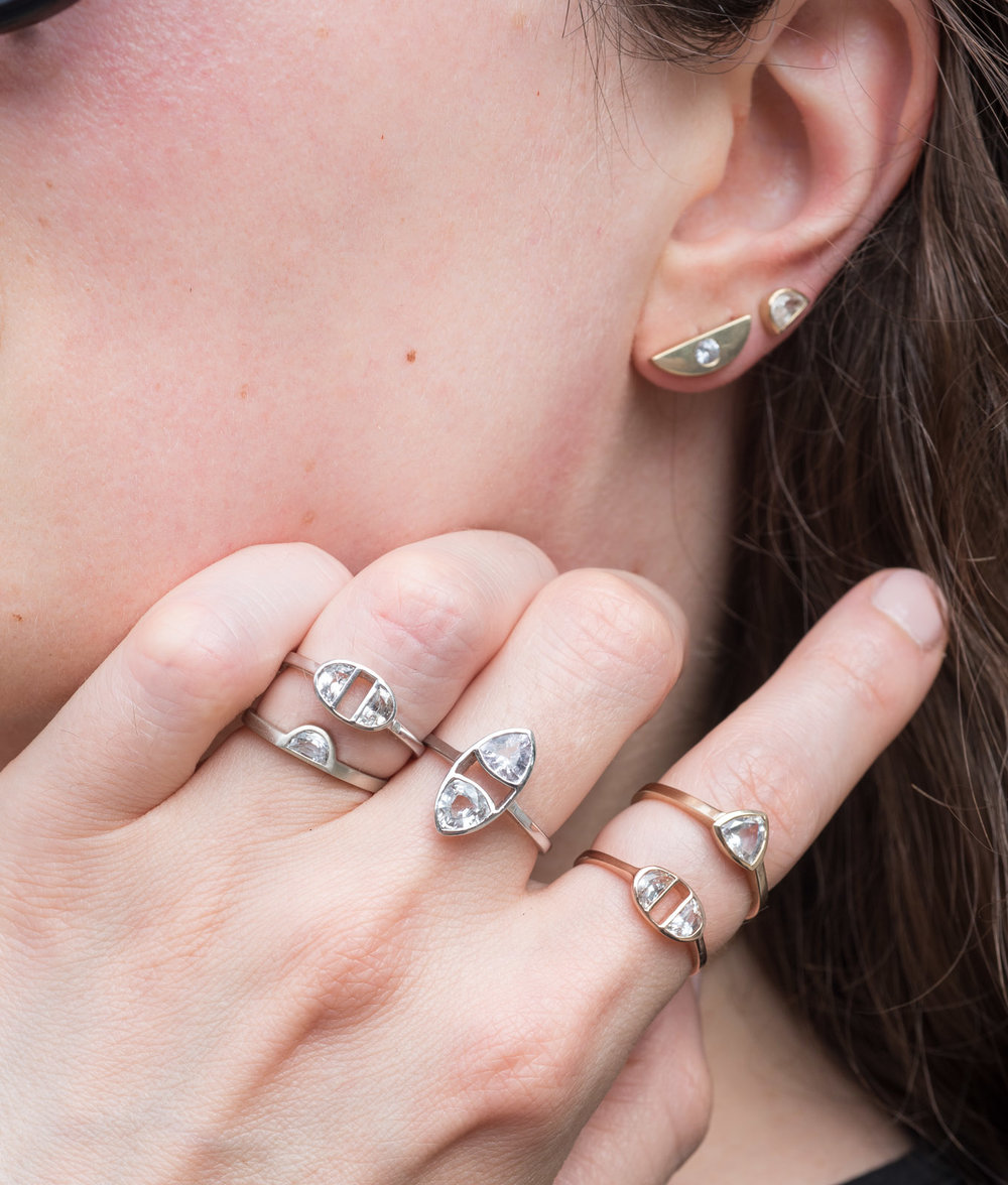 White Sapphires as an Alternative to Diamonds // Bario Neal Goes ...