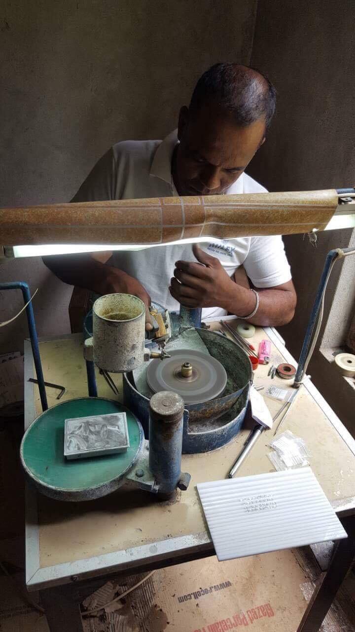 Sri Lanka family mine Bario Neal White Sapphire