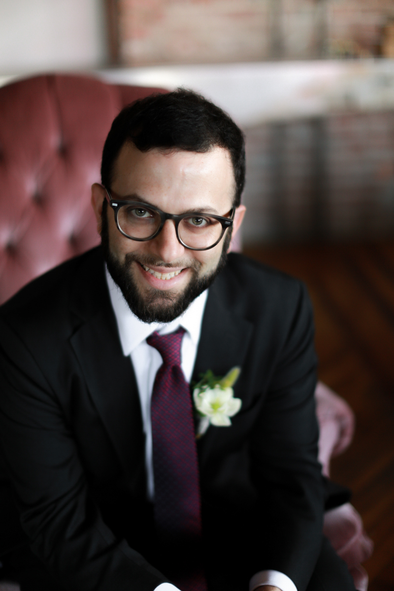 secular wedding officiant in NYC Marley Jay