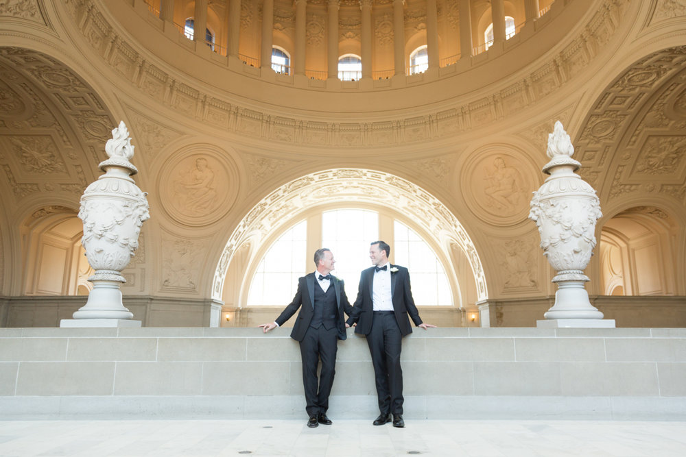 City Hall wedding in San Francisco