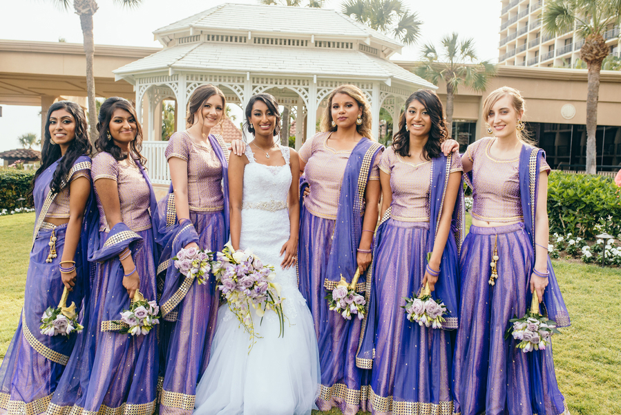 4bf2aaf32f Real Couples // An Indian American Wedding in Galveston: Jessica + ...