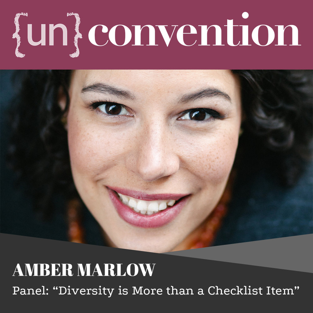 """{un}convention RVA panelist Amber Marlow: """"Diversity is More than a Checklist Item"""""""