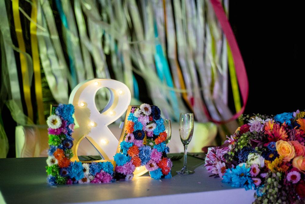Beautiful beach wedding in Mexico