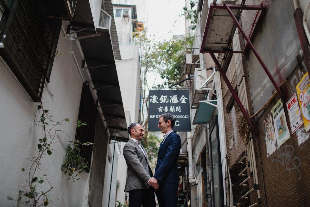 engagement photos in Hong Kong