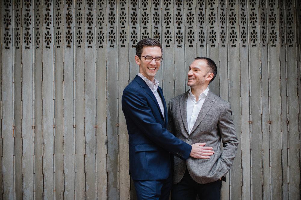 same sex engagement photos in Hong Kong