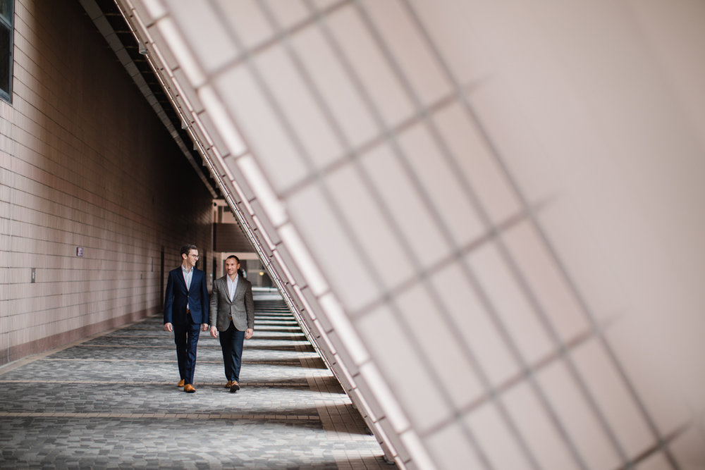 Hong Kong architecture in engagement photos