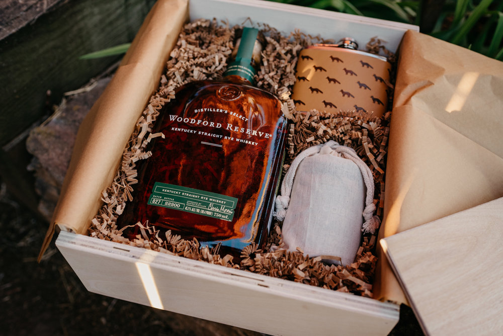 Southern Oak Gift Co. whisky gift