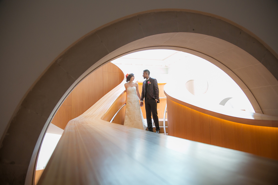 Intimate Mexican-Canadian Art Gallery Wedding Inspiration in Ontario Canada by WPIC Inc.