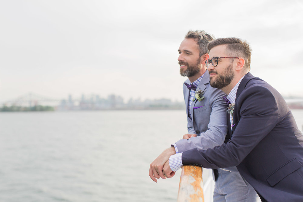 Same-sex elopement in Montreal