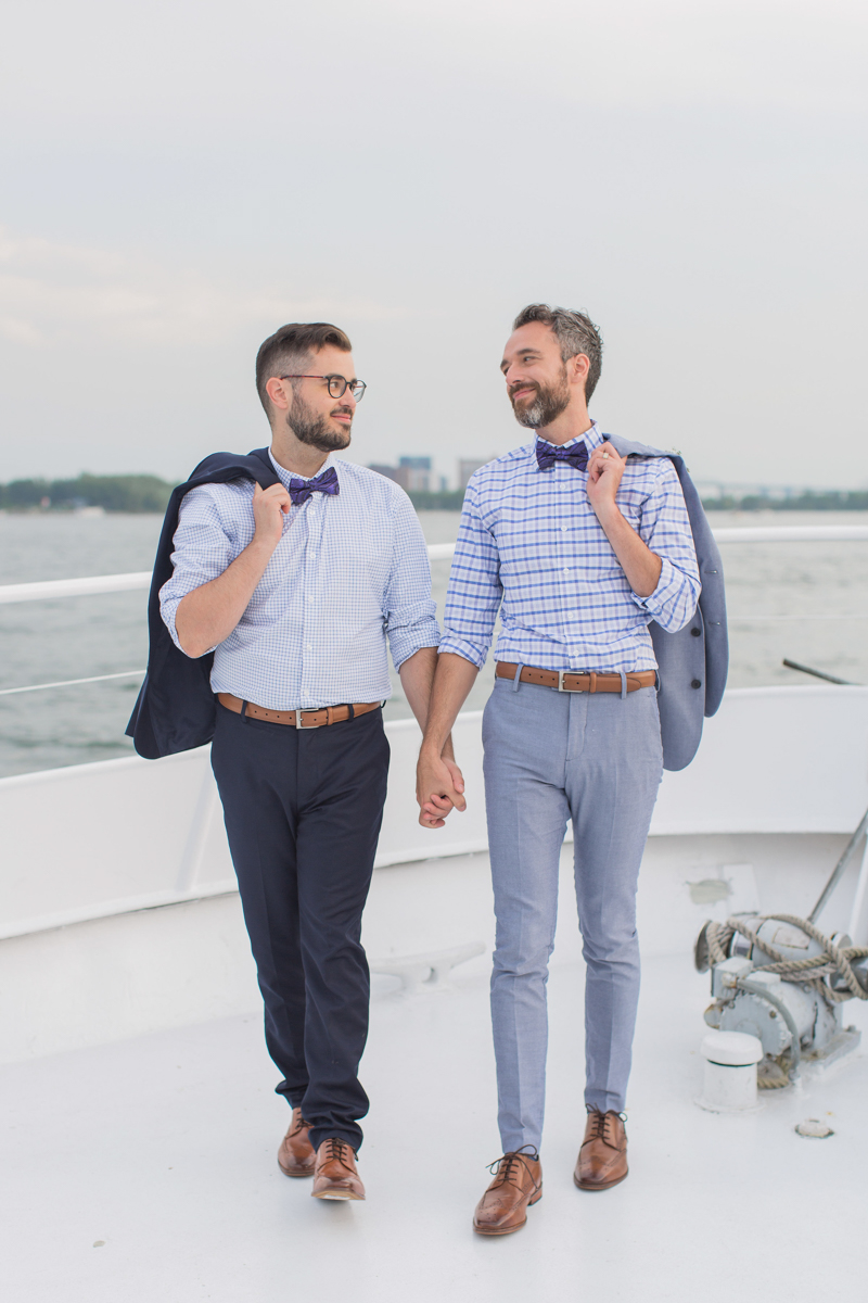 Elopement style for grooms