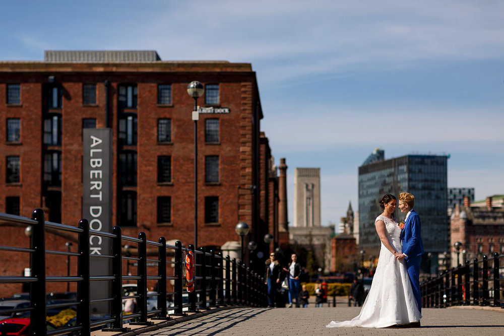 same-sex wedding photographer in Liverpool