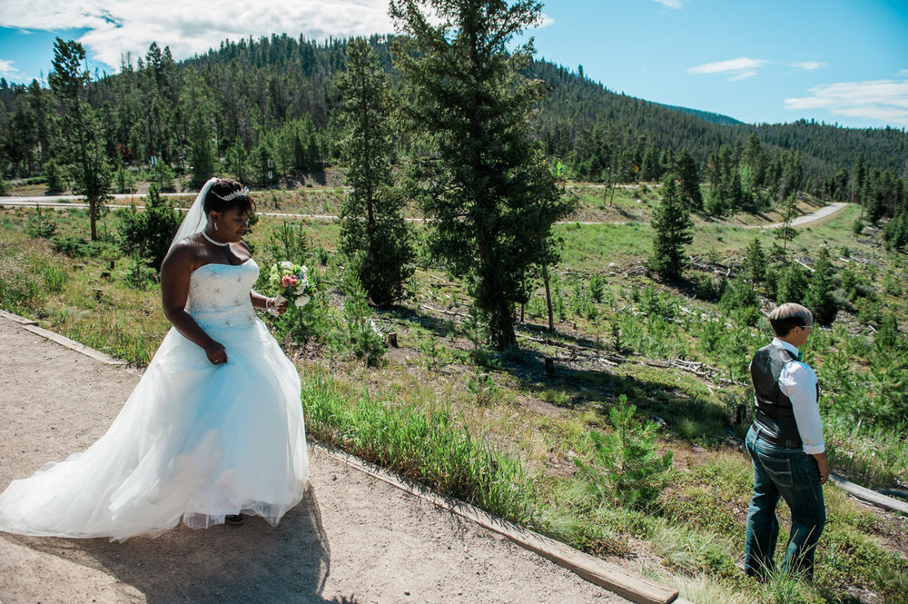 CO elopement first look