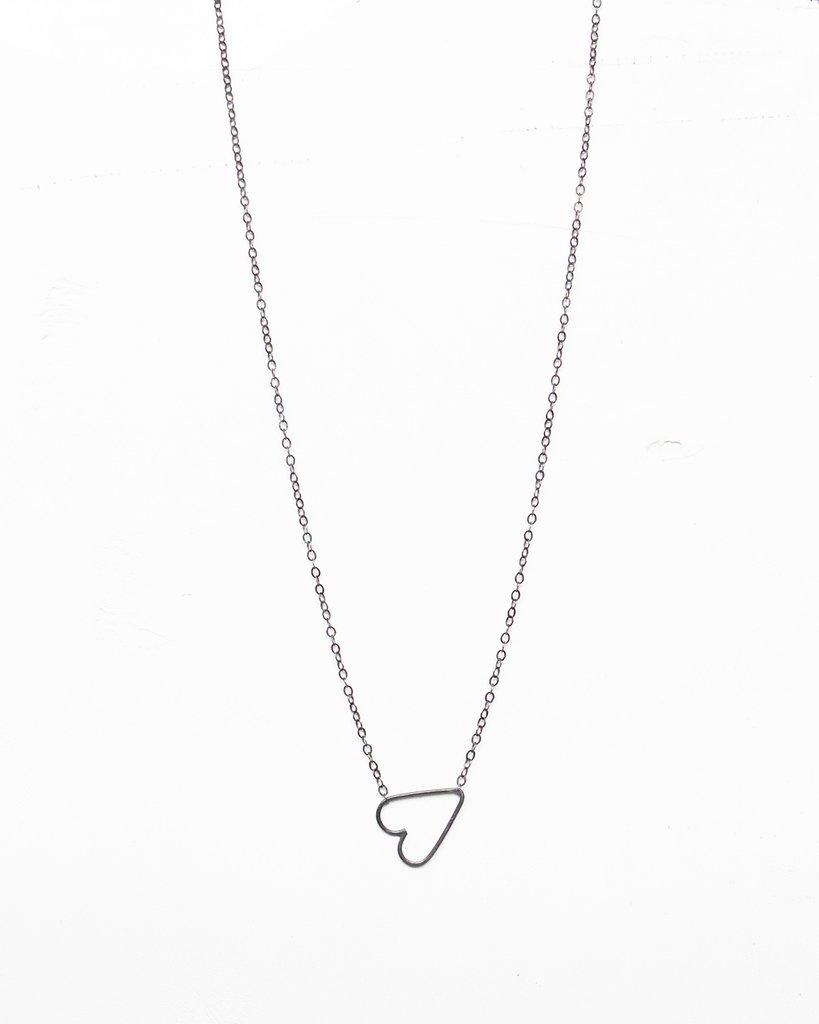 Elaine B Jewelry Heart Necklace