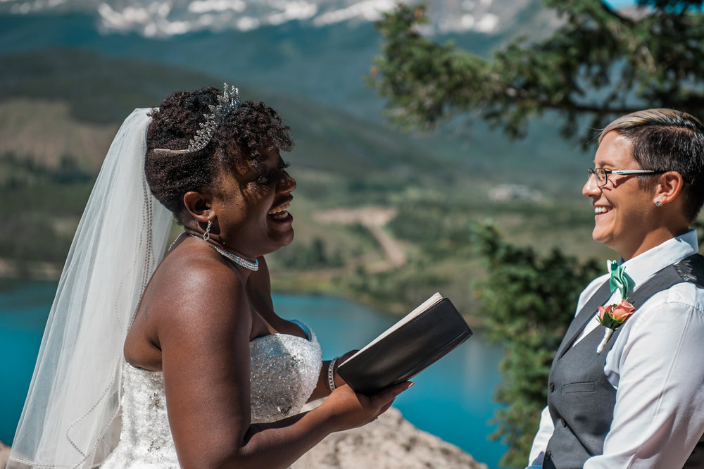 mountain elopement amber reading