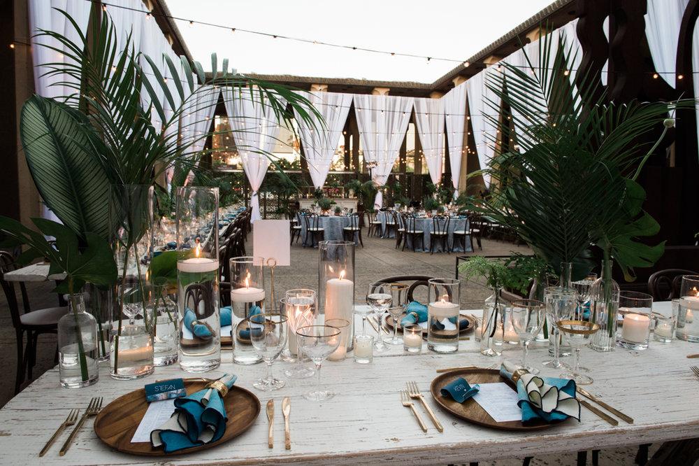 San Diego Museum of Art Wedding reception area
