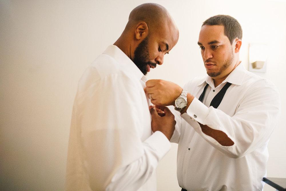 mount vernon ballroom wedding groomsmen getting ready