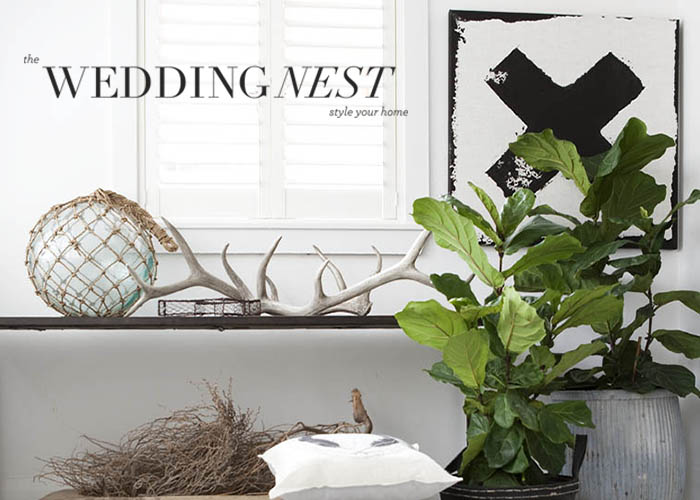 The Wedding Nest Gift Registry - Style Your Home