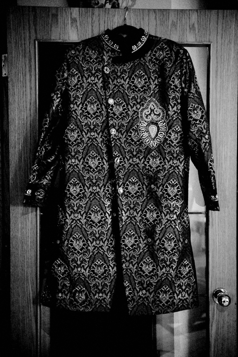 edmonton Indian and filipino wedding groom's sherwani