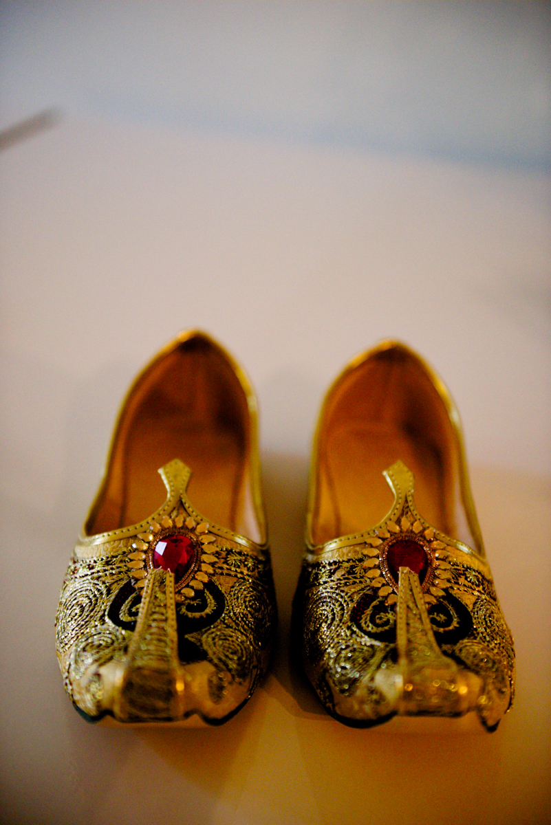 edmonton Indian and filipino wedding groom's shoes