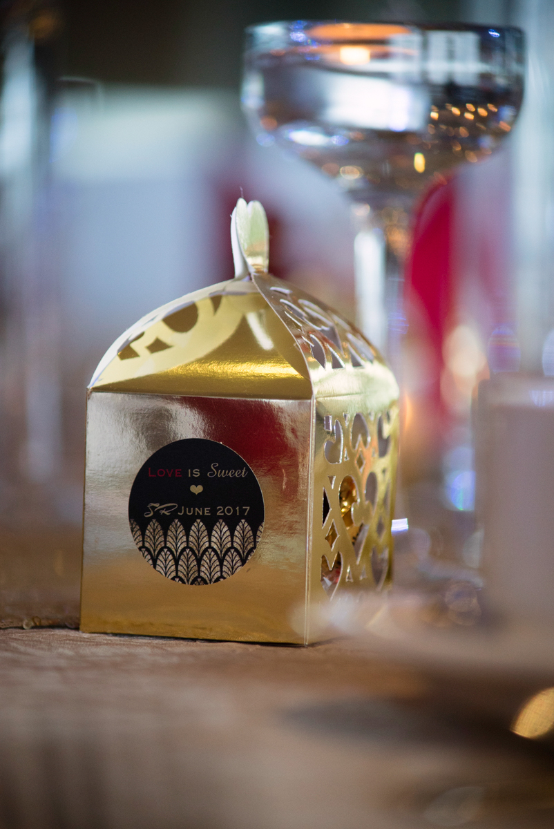 edmonton Indian and filipino wedding chocolate box