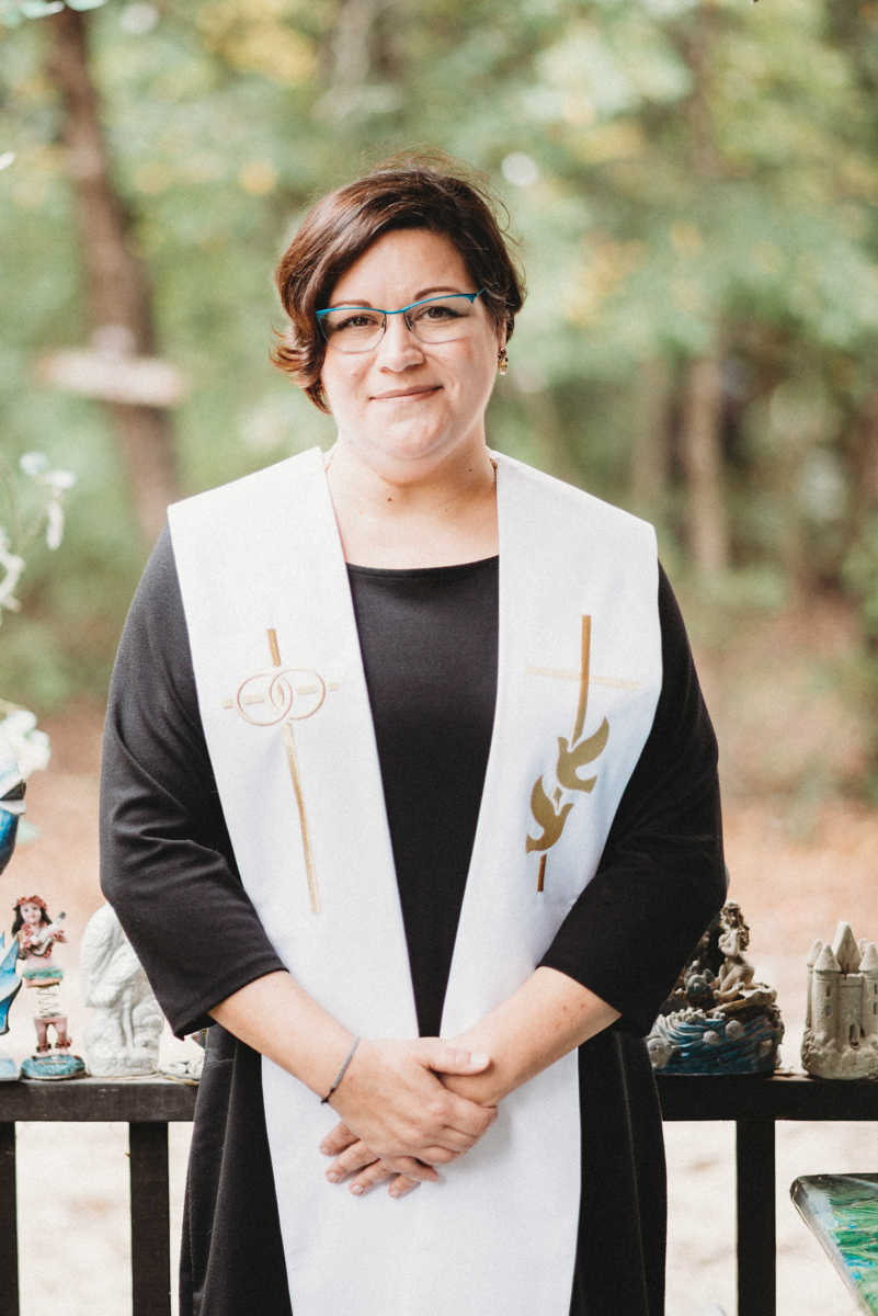 intimate, eclectic austin wedding officiant